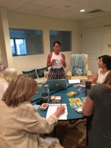 Lisa Teaching Tarot